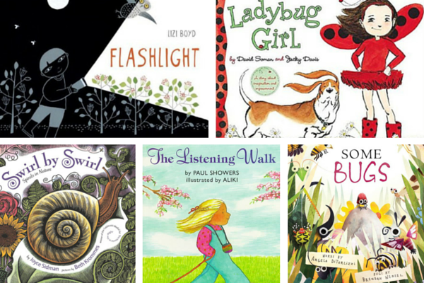 5 Preschool Books to Spur Imagination Outdoors