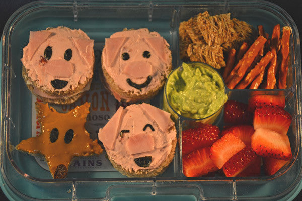 Storytelling Meets Lunchtime - A Three Little Pigs Lunch