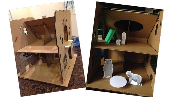 Children's dollhouse prototype