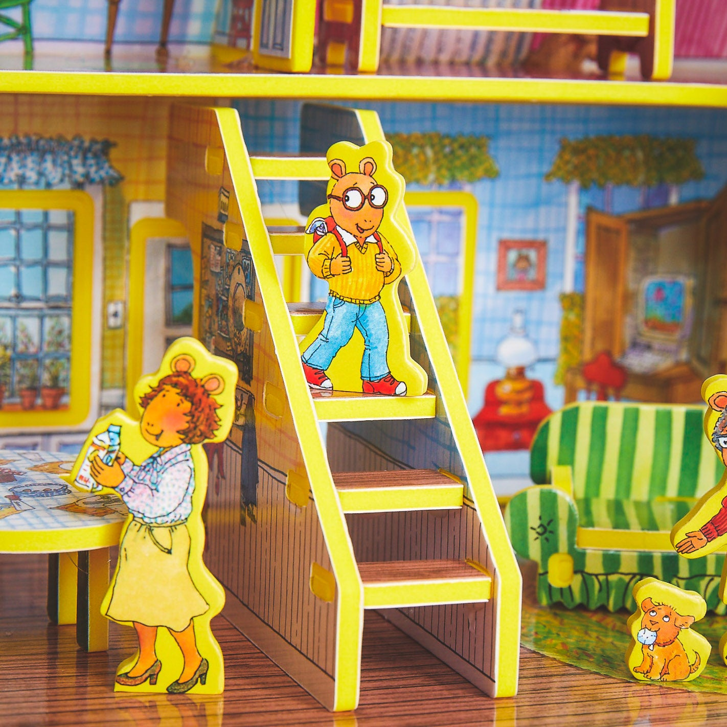 #AH3 Arthur House Book & Playset - WHOLESALE Case of 3