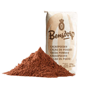 COCOA POWDER, BENSDORP, DUTCH PROCESSED,22/24%, 500g