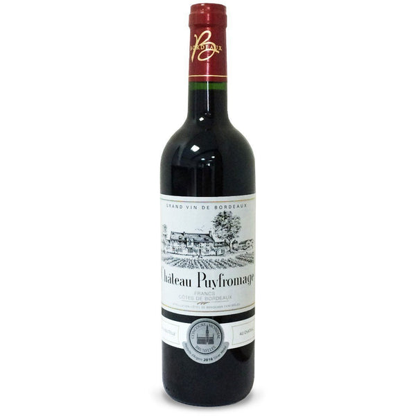 Chateau Puyfromage, Bordeaux, France - RED WINE