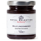 WILD LINGONBERRY CONFIT, BELLBERRY ROYAL PRESERVES