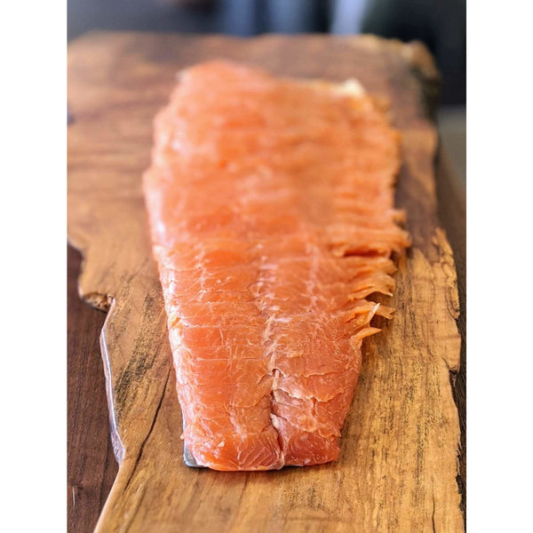 SMOKED SALMON, PEPPERED, 250g