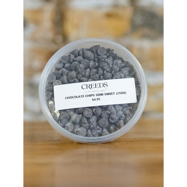 CHOCOLATE CHIP, SEMI SWEET, 250G