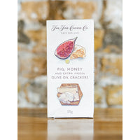 FIG, HONEY, & EVOO CRACKER, THE FINE CHEESE CO
