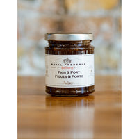 FIGS & PORT PRESERVE, BELLBERRY ROYAL PRESERVES