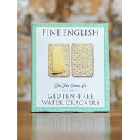 HERITAGE GLUTEN FREE WATER CRACKERS, THE FINE CHEESE CO