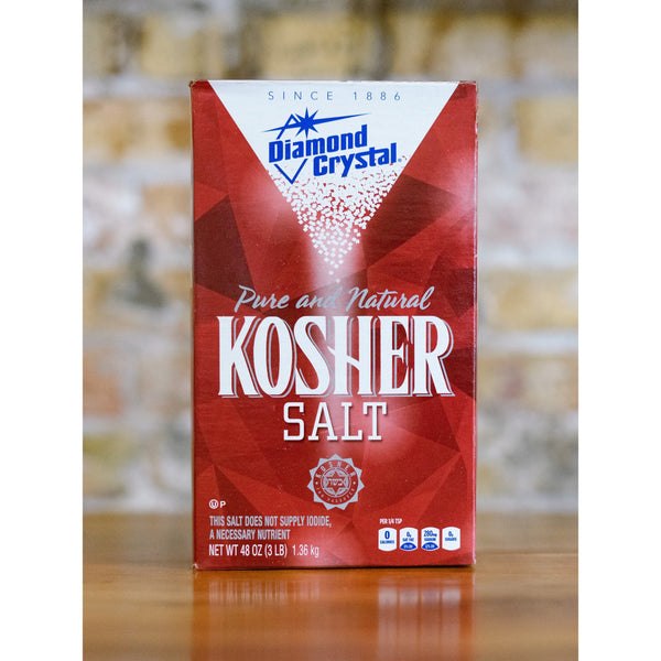 KOSHER SALT, DIAMOND CRYSTAL, 1.36KG