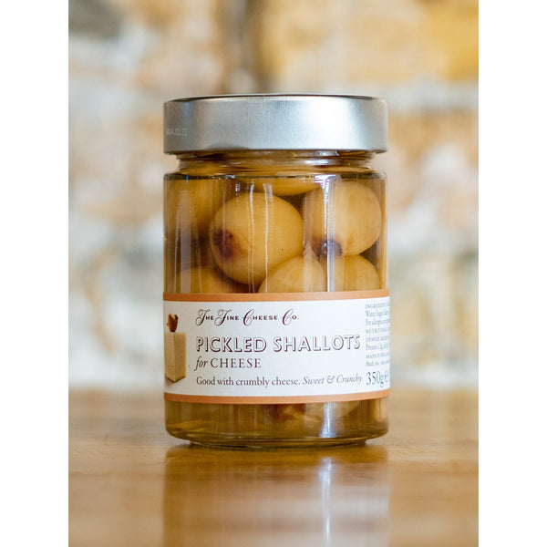 PICKLED SHALOTS, THE FINE CHEESE CO