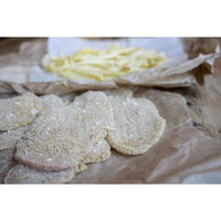 VEAL CUTLET, BREADED UNCOOKED