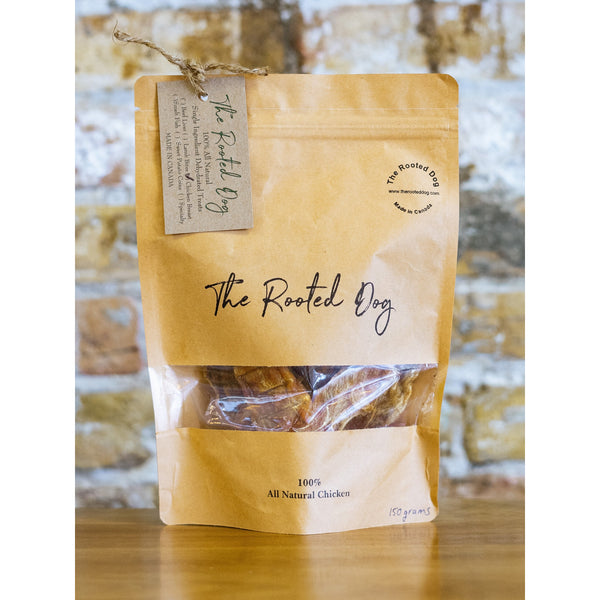 CHICKEN GOURMET DOG TREATS, THE ROOTED DOG