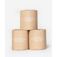 PlantPaper, TOILET PAPER (Box of 8 Rolls)