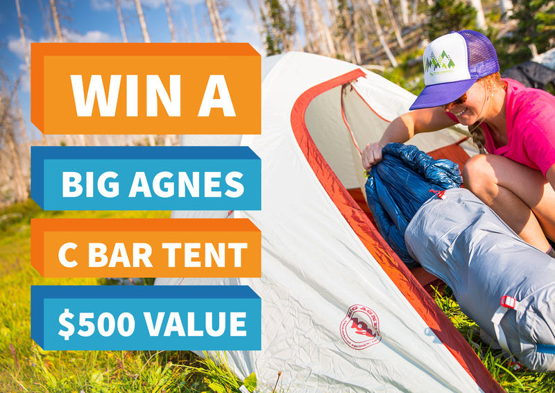 Win a Big Agnes C Bar Tent - Closed