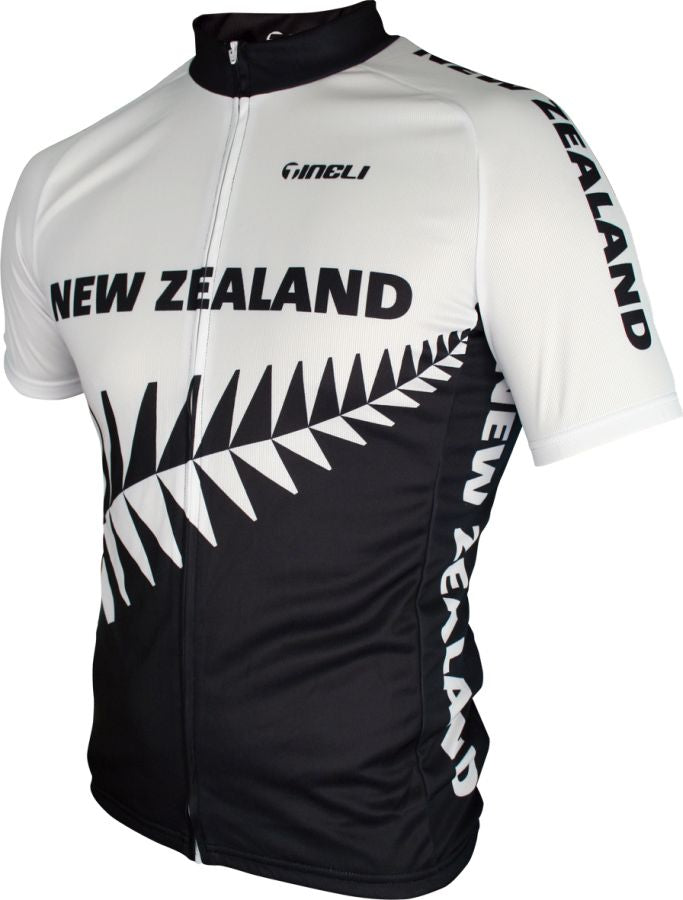 Tineli Mens New Zealand Cycling Jersey