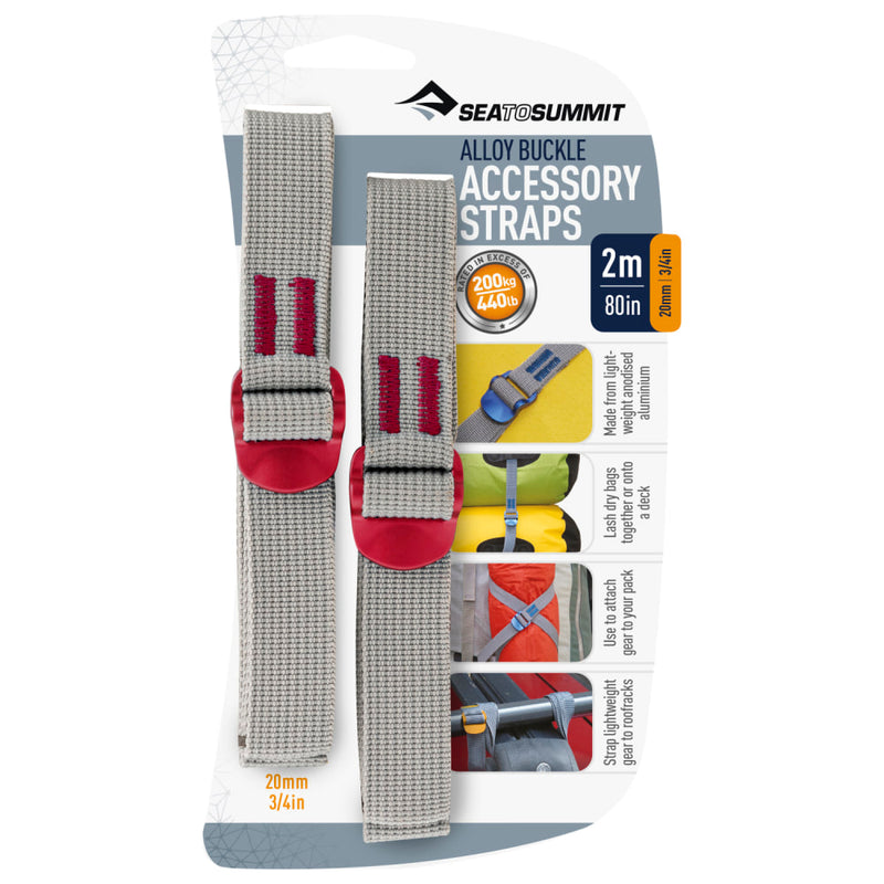 Sea to Summit Accessory Strap, Alloy Buckle, 20mm