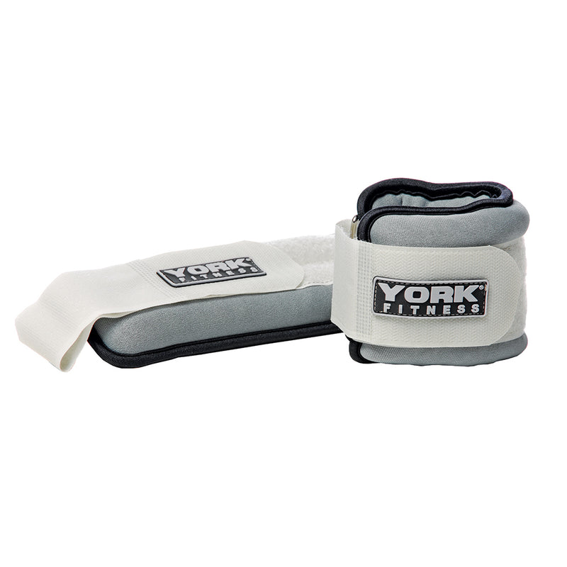 York Soft Wrist/Ankle Weights - 1kg