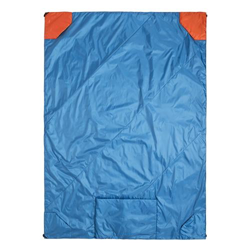 Klymit Versa Blanket, Blue/Orange