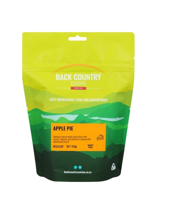 Back Country Cuisine Apple Pie - Regular