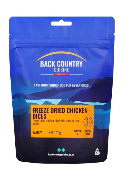 Back Country Cuisine Chicken Dices - Family