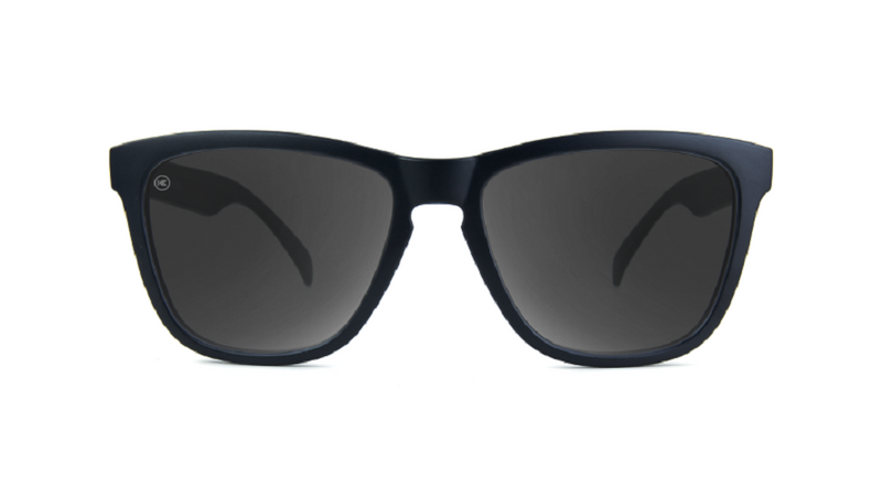 Knockaround Classic Sunglasses, Black on Black