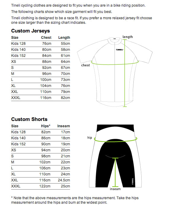 Tineli 6 Panel Bibshorts