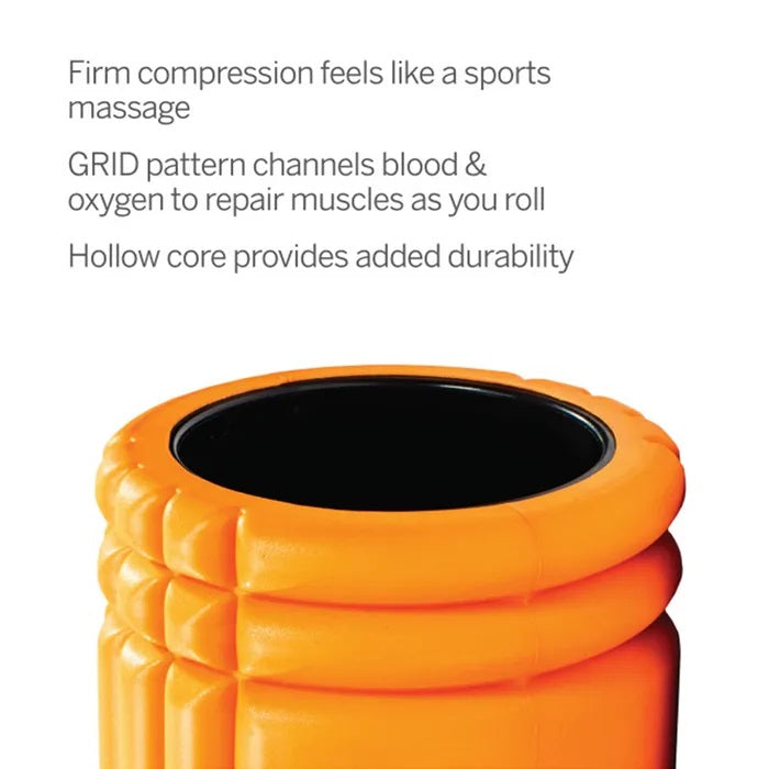 Triggerpoint Grid 1 Foam Roller Orange