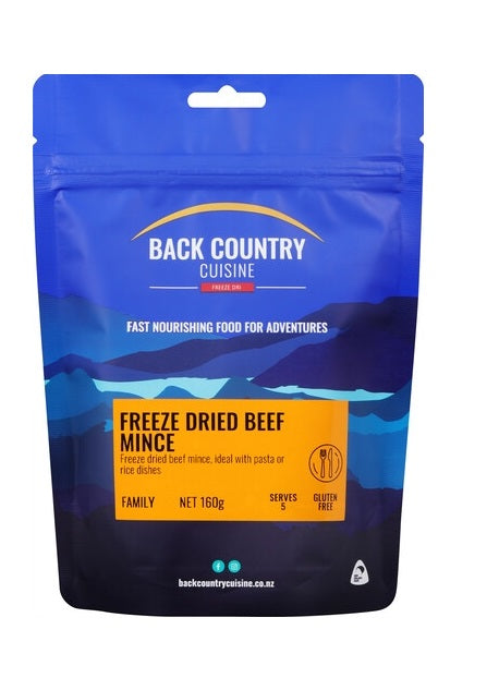 Back Country Cuisine Beef Mince - Family