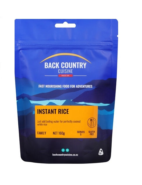 Back Country Cuisine Instant Rice - Family