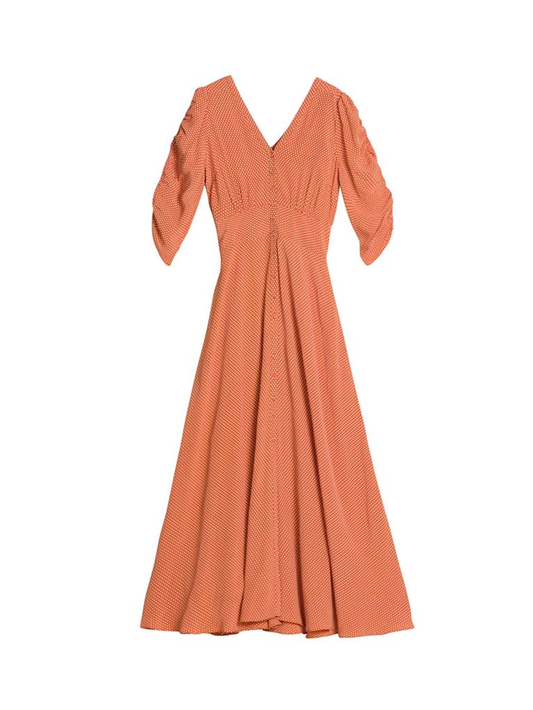 SUMMER ROUCHING GOWN