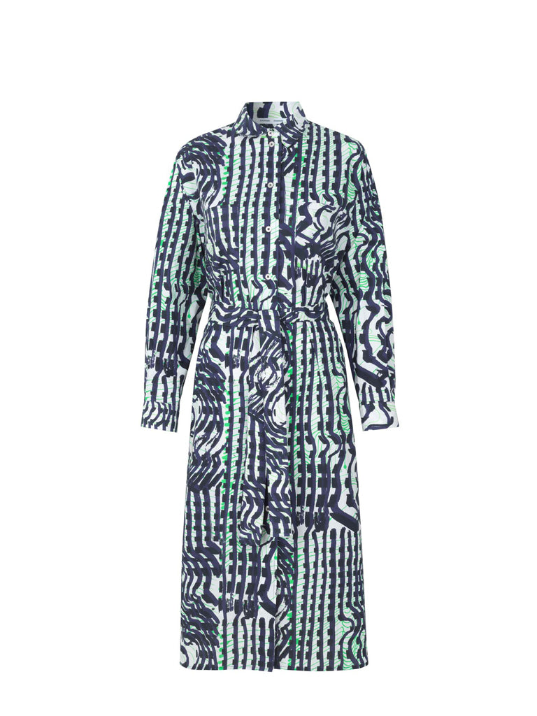 MARGO LONG DRESS AOP