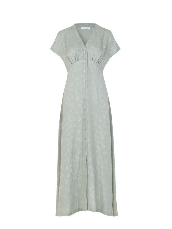VALERIE LONG DRESS AOP