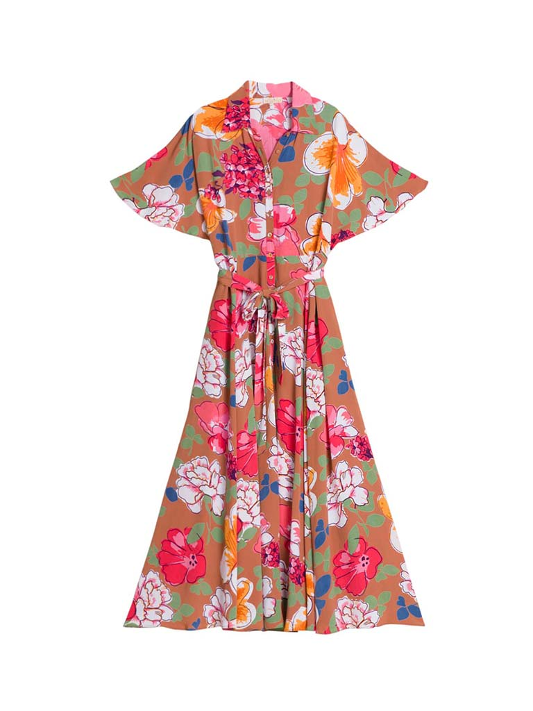 SUMMER MAXI SHIRT DRESS