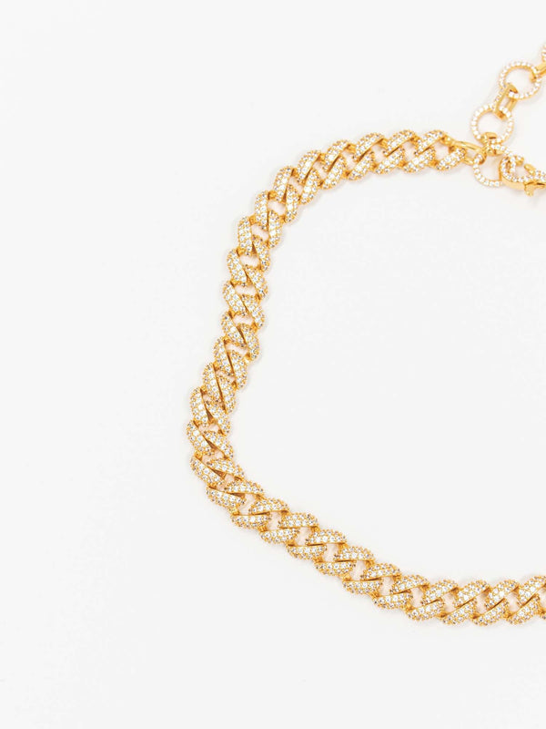 DIAMOND CUBAN CHAIN GOLD
