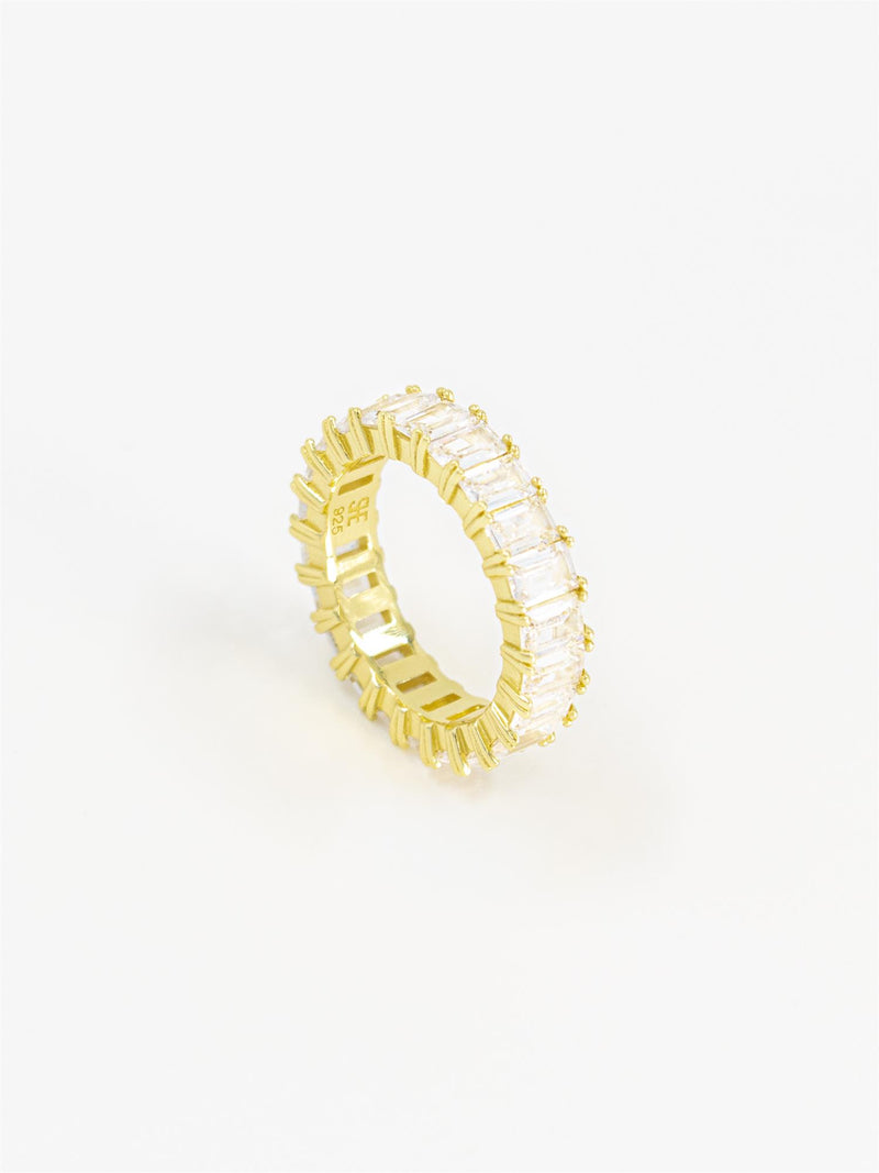 PAVE DIAMOND RING GOLD