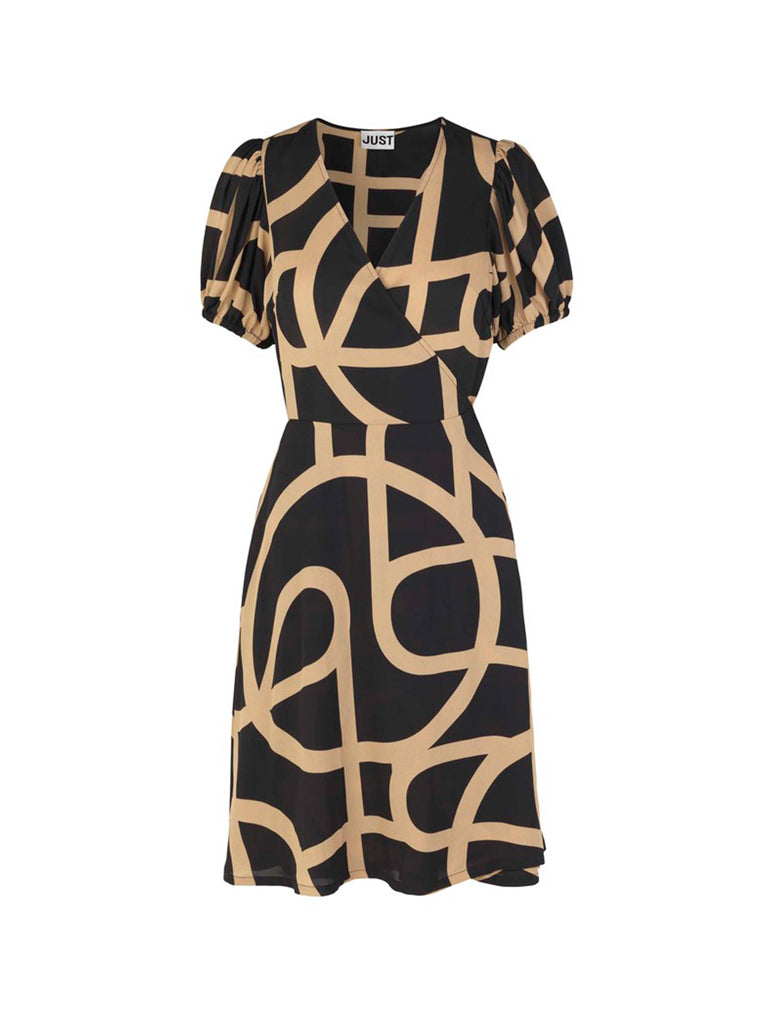 LEYA WRAP DRESS