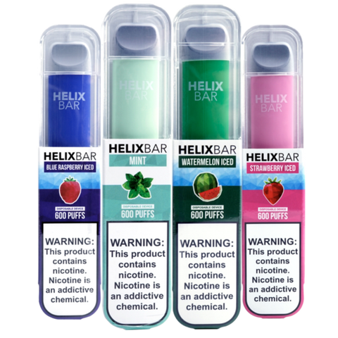 Helix Bar 600 Puff Capacity Disposable Vape