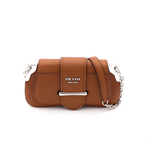 Leather Sidonie Small Shoulder Bag