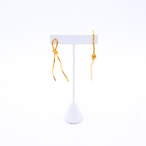 Asymmetrical Rope Earrings