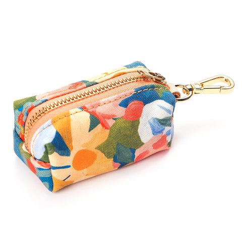 Floral Doggie Bag Dispenser