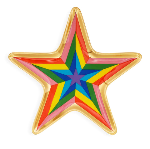 Rainbow Star Valet Tray