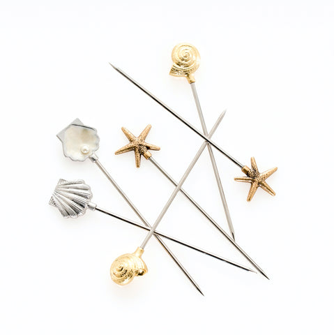 Ocean Charm Cocktail Picks