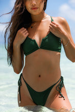 Load image into Gallery viewer, SUNDAZE BIKINIS HANALEI TOP EMERALD