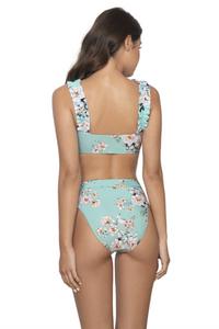 PQ SWIM HIGH WAIST FULL BOTTOMS POSIES