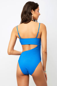 FRANKIES BIKINIS CARTER ONE PIECE ROYAL