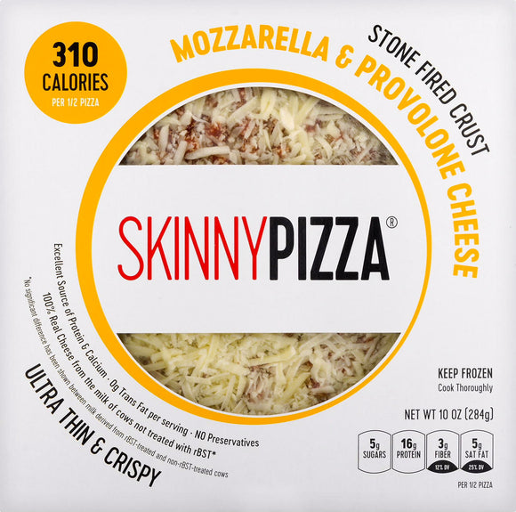 Mozzarella & Provolone Cheese Pizza