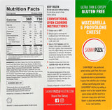 Gluten Free Mozzarella & Provolone Cheese Pizza
