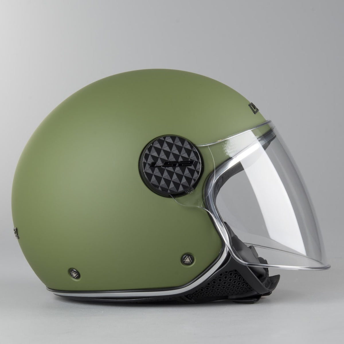 LS2 Caschi Moto OF558 SPHERE LUX OPACO MILITARY Verde