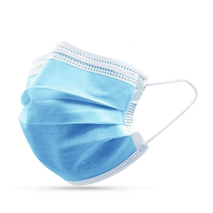 3 Ply Class 1 Face Masks - Pack of 50 ($.60/mask)