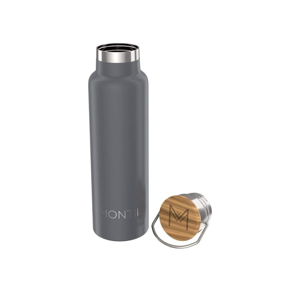 MontiiCo - 600ml Original Drink Bottle [Grey]